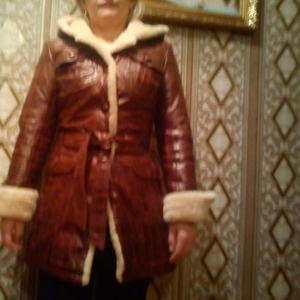 Продается кожаное зимнее женское пальто