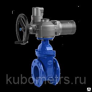 Клиновая задвижка с электроприводом Гранар KR12 (DN 40-350 / PN 16)