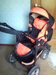 Продам детскую коляску- трансформер (люлька прогулка)